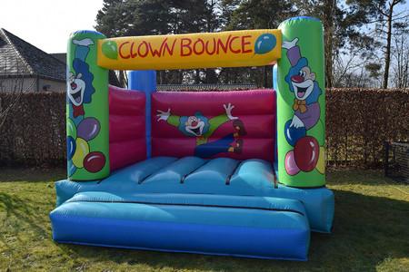 Springkasteel Mini Clown