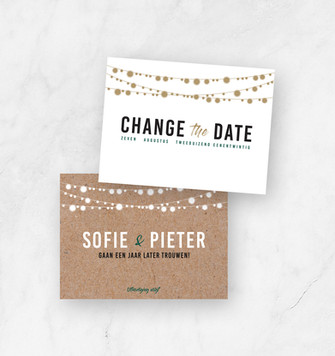 Uitnodiging trouw Sofie & Pieter