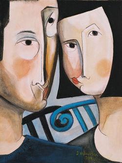 Couple Soft Face