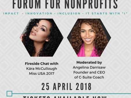 Angelina Darrisaw Hosts Fireside Chat With Miss USA for NYJL NonProfit Forum