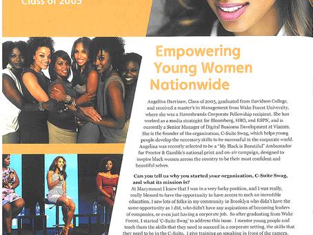 Marymount Legacy Magazine Feature