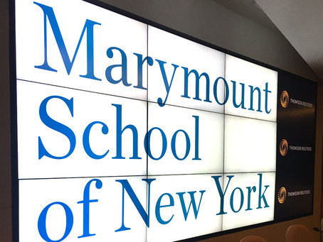 Thomson Reuters Hosts Marymount Alum for A Panel on Managing A Career