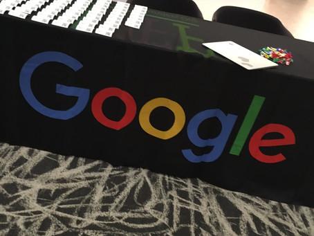 Presenting C-Suite Coach at Google DC