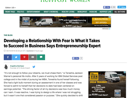 Developing a Relationship With Fear Is What it Takes to Succeed in Business Says Entrepreneurship Ex