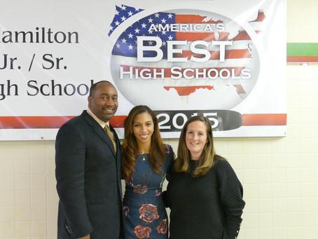 Angelina Visits Hamilton, NY For Branding & Goal-Setting Workshops