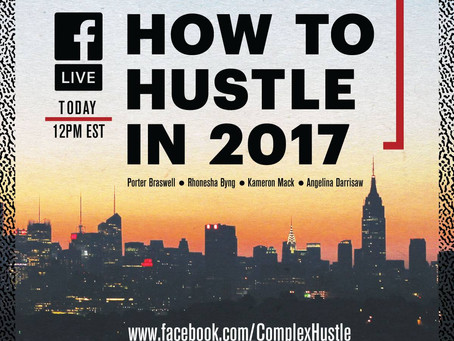 "Angelina Joins Complex Hustle, Jopwell and Her Agenda to Talk ""Hustle"" for 2017"
