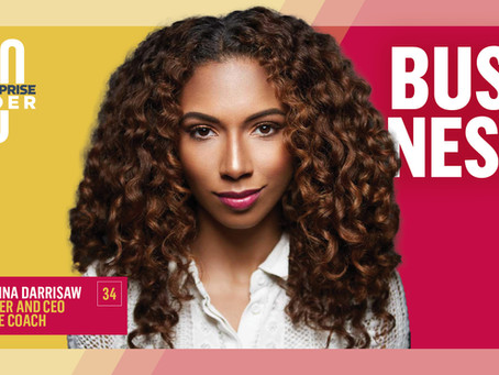 Angelina Darrisaw Named to Black Enterprise's 40 under 40 for Business