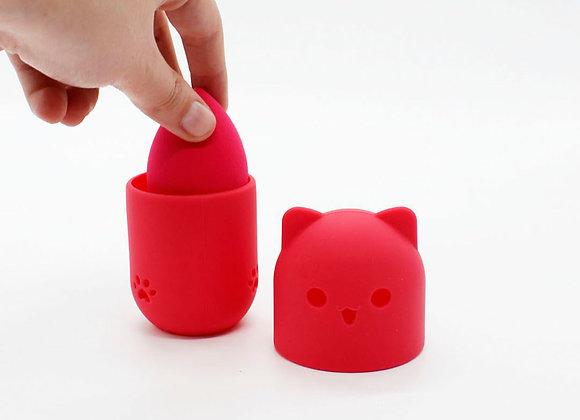 Pomo con estuche de gato