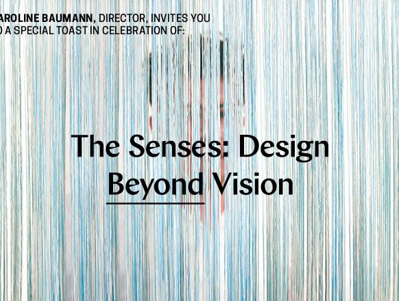 Cooper Hewitt Senses Exhibition
