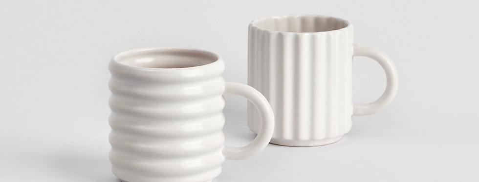 Ripple Mugs Set of 2