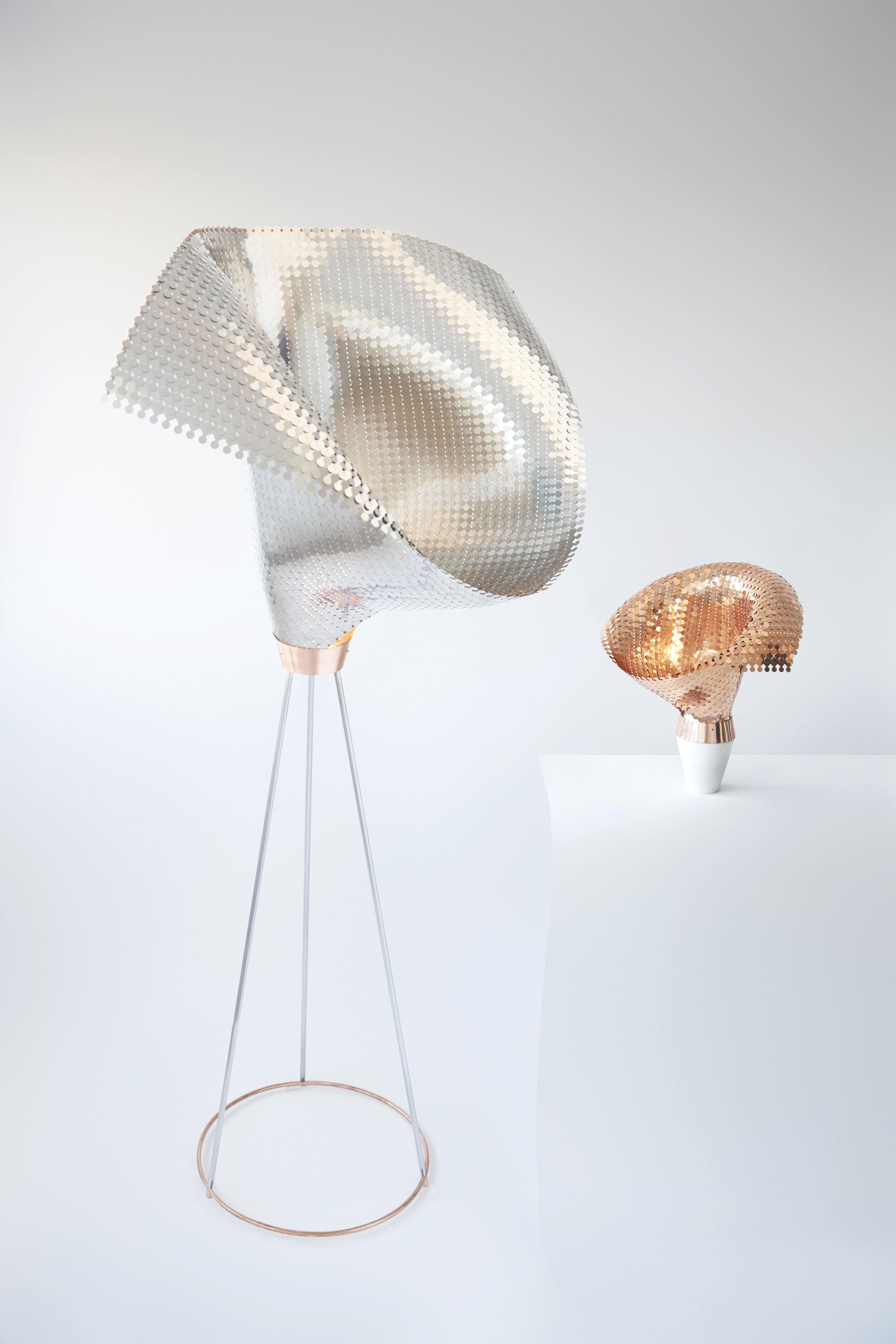 Eye of the light_floor & table lamp