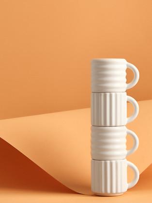 Ripple Espresso Cups