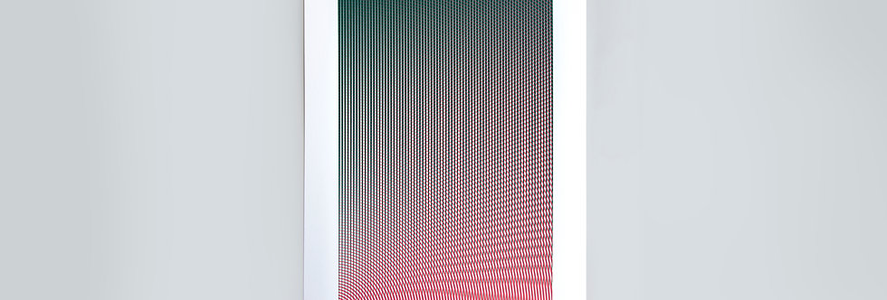 Density Ripple Screen Print