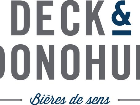 Deck & Donohue, une brasserie qui a du sens