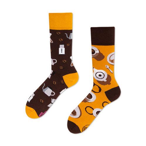 Coffee Lover Socks - Many Mornings