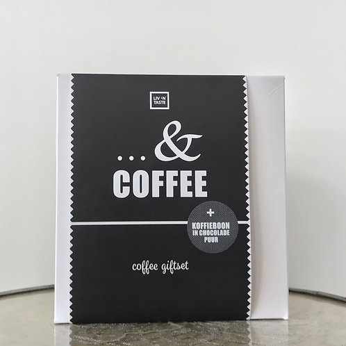 Coffee Gift Set met koffieboon