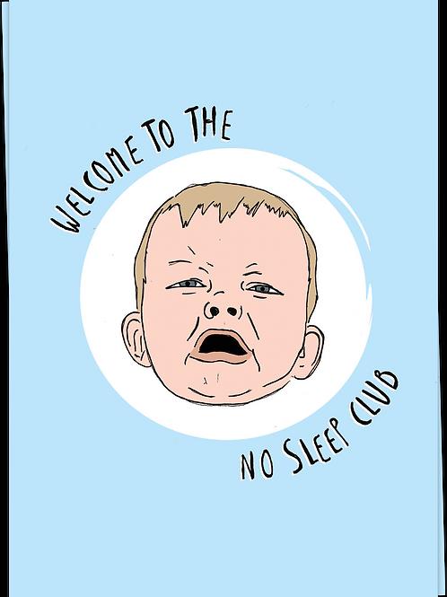 Welcome to the no sleep club