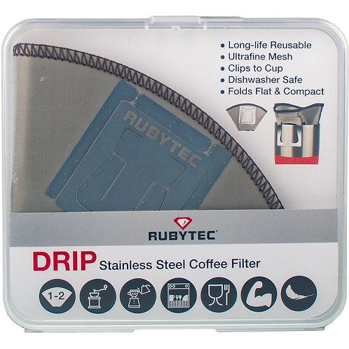Rubytec Drip Stainless Steel Coffee Filter