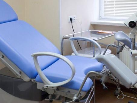 Осмотр на гинекологическом кресле в Rehab Clinic Одесса