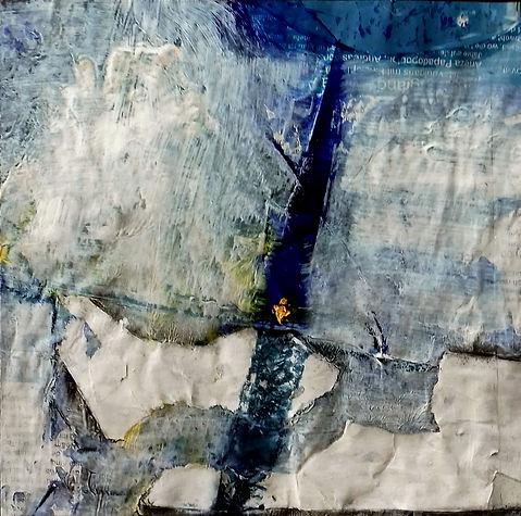 """Barbara Walder """"Hommage à Dag Hammarskjöld"""" Kunst-Werk für die UNO 2019"""