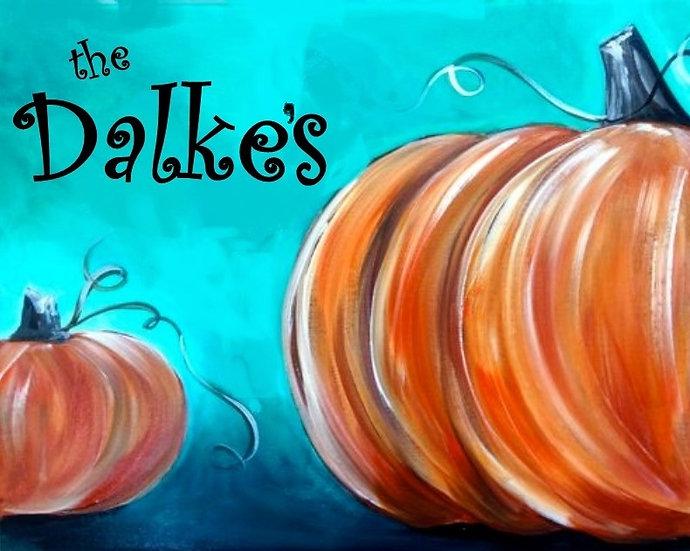 Welcome Pumpkins