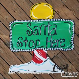 Wooden Santa Stop Here.jpg