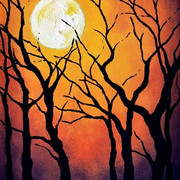 Fall's Full Moon