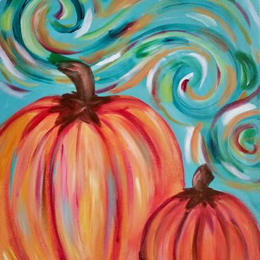Swirling Pumpkins