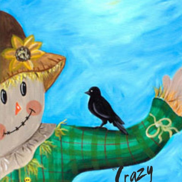 Scarecrow and Friend