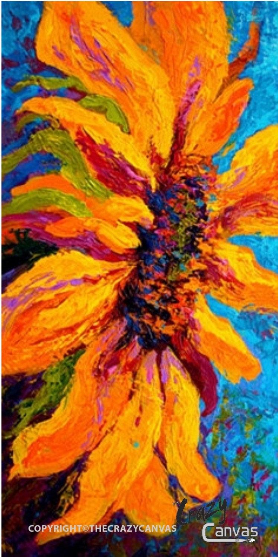 Van Gogh Sunflower 12x24