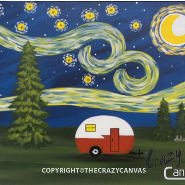 Starry Starry Campsite