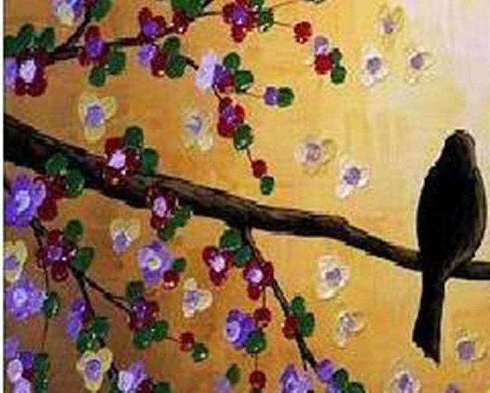 Lovebird Sunset - I