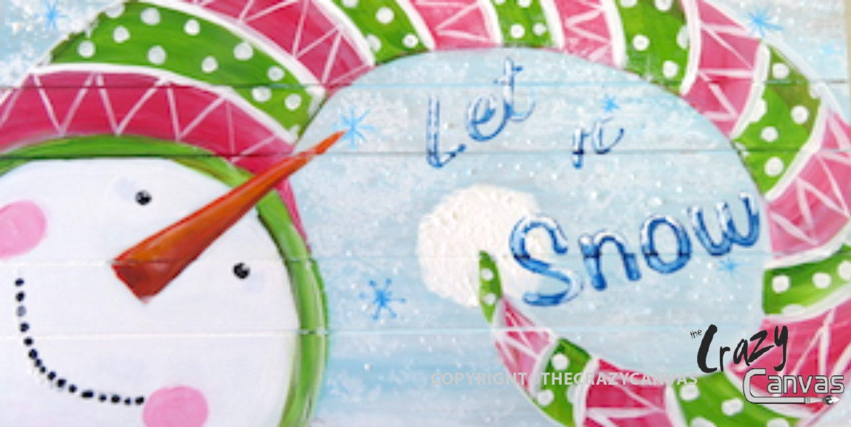 Let it Snow Man