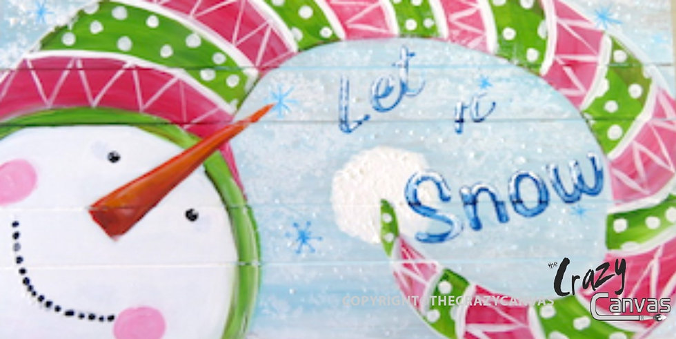 Let it Snow Man