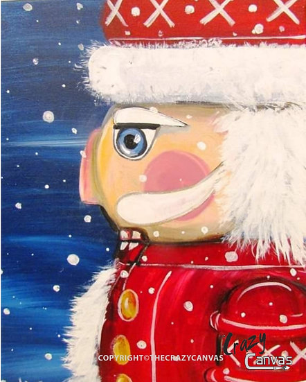 Nutcracker in Red