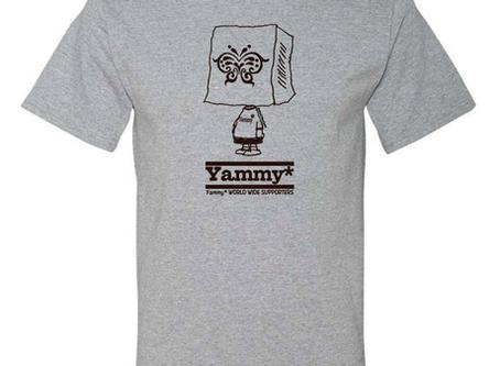 【予約受付中】2020年度版 Yammy* World Wide Supporters Tシャツ