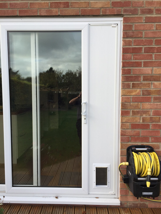 Cat Flap In Sliding Patio Doors Fab For