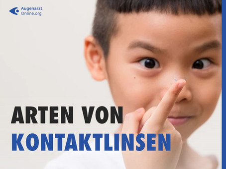 Welche Arten von Kontaktlinsen gibt es?