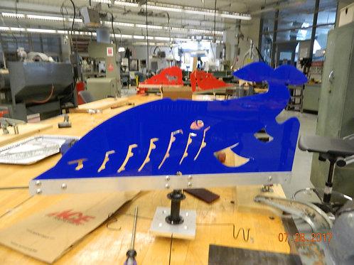 Whale - Laser Cut Wind Vane