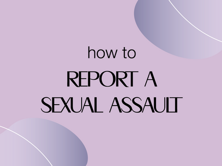 Reporting Sexual Assault in Canada