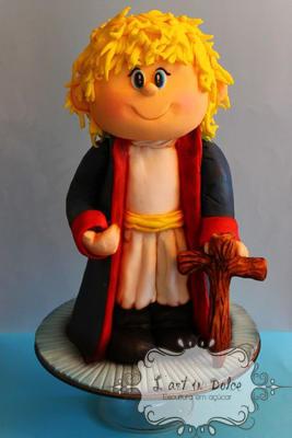 Bolo Esculpido Pequeno Príncipe