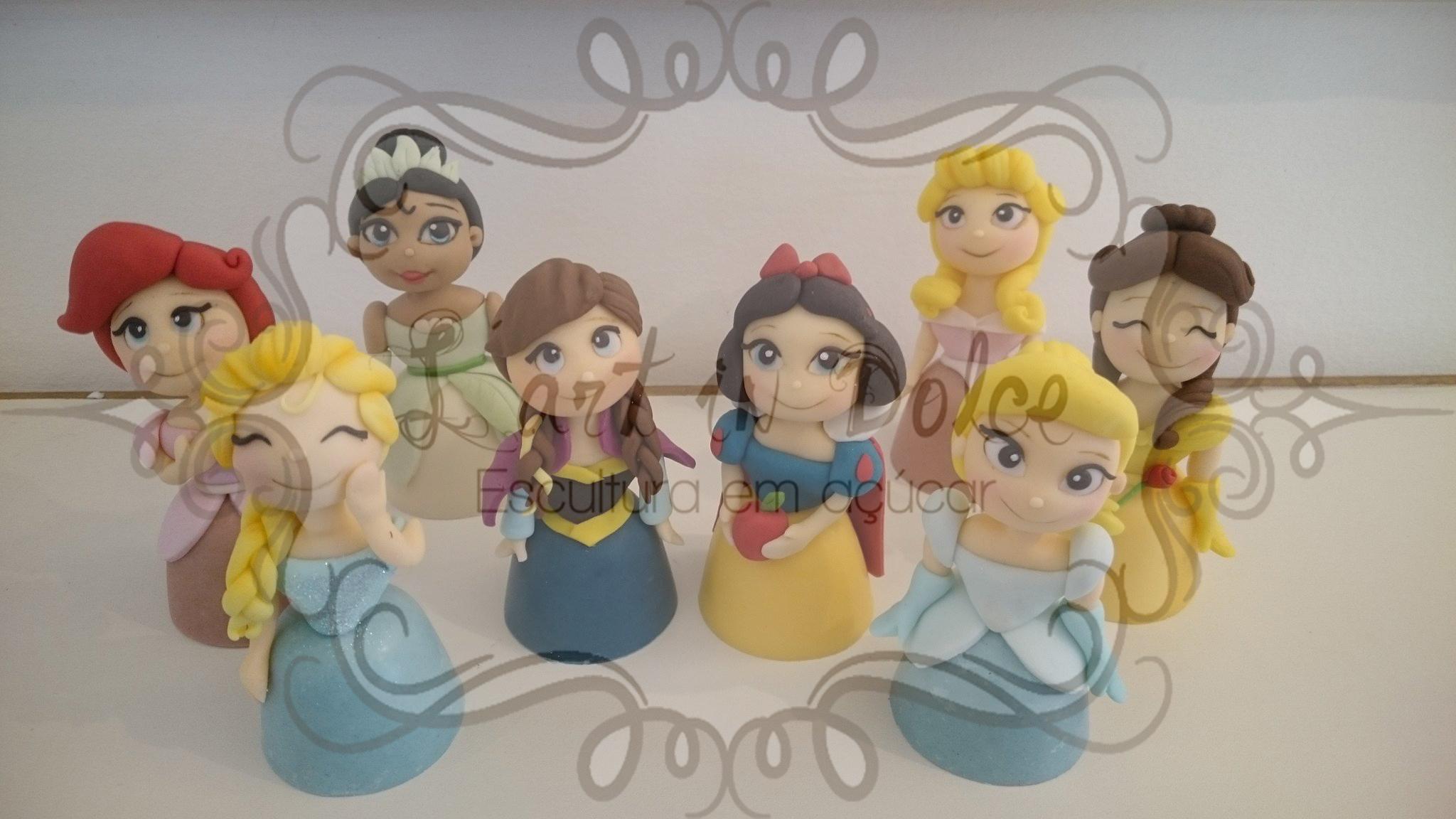 Modelagens Princesas - Trufas