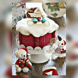 Cookie Cake - Christmas
