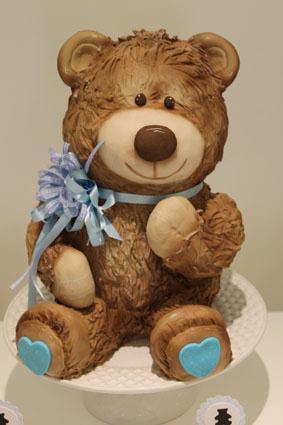 Bolo Esculpido Urso