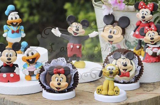 Modelagens Disney