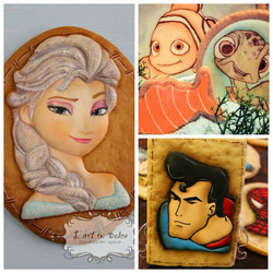 Cookie Design Personagens