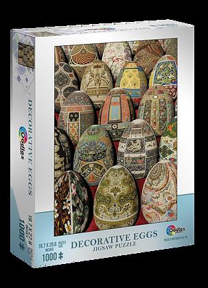 Decorative Eggs 1000 Piece Jigsaw Puzzle