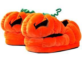 Jack O' Lantern Slippers