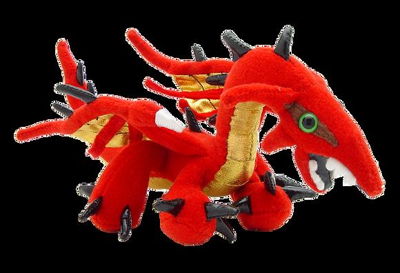 Mini Red Dragon Plush