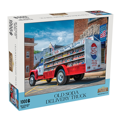 Old Soda Delivery Truck 1000 Piece Jigsaw Puzzle